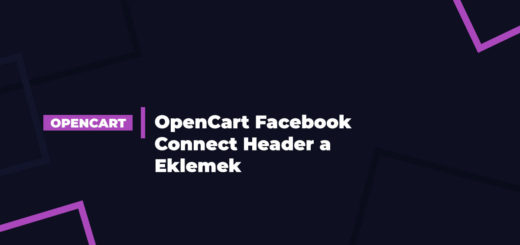 OpenCart Facebook Connect Header a Eklemek