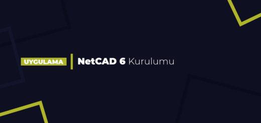NetCAD 6 Kurulumu