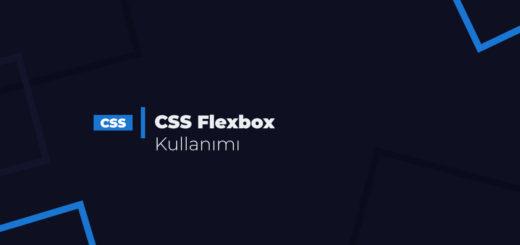 CSS Flexbox Kullanımı